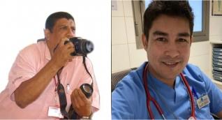 Edgar Fuentes y José Cabellero.