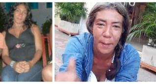 La foto de la derecha es la imagen más reciente que tienen de la mujer.