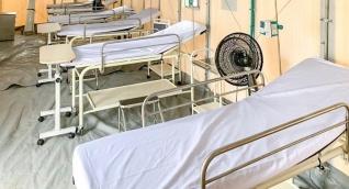 Camas del hospital de Maicao.