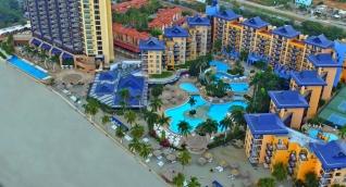El Hotel Zuana es uno de los principales centros turísticos de Santa Marta.