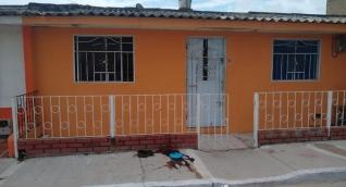 En esta vivienda, en el barrio Vista Hermosa de Soledad, ocurrió el ataque sicarial.