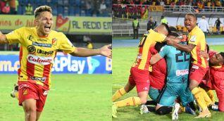 De La Rosa marcó en un partido para la historia del Pereira.
