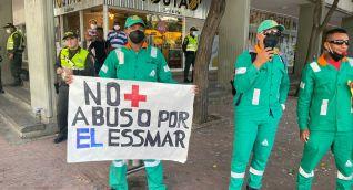 No más abuso de la Essmar, claman empleados de Interaseo.