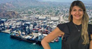 Adriana Molinares, nueva jefe de comunicaciones del Puerto de Santa Marta.