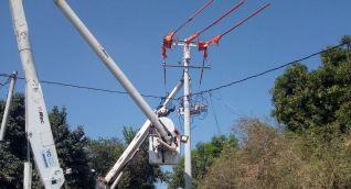 Trabajo en las redes que abastecen a Taganga.