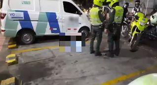 El presunto ladrón cayó muerto en el mismo lugar donde se produjo el intento de hurto.