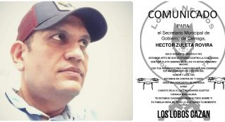 Héctor Zuleta Rovira, secretario de Gobierno de Ciénaga, recibió panfleto con amenaza de muerte.