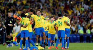 Selección Brasil.