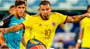 Cardona marcó el único gol ante Ecuador.