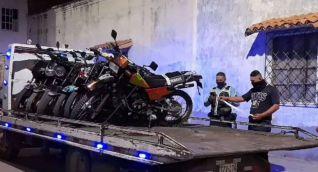 Inmovilización de motocicletas.