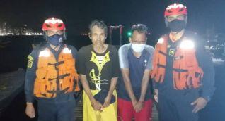 Pescadores rescatados en Santa Marta.