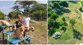 Divertidogs está ubicado en zona campestre de la ciudad de Santa Marta.