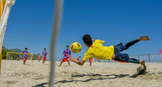 El Deporte, la recreación y la actividad física se toman la Fiesta del Mar 2021.