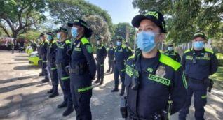 Con 1.100 hombres y mujeres la Policía Metropolitana estará presente en los diferentes barrios y sectores de la ciudad.