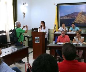 Gobernadora, Rosa Cotes hizo importantes anuncios de inversiones para Santa Marta y otros municipios del Magdalena.
