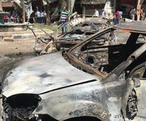 Autoridades reportan la explosión de un coche bomba y dos ataques suicidas.