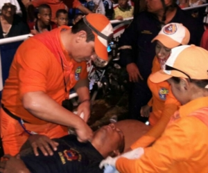 Los heridos han sido atendidos en su mayoría por la Defensa Civil.
