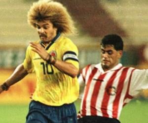 Carlos 'El Pible' Valderrama.