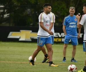 Falcao García comandará el ataque de Colombia.