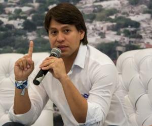 Rubén Jiménez debutó en la política lanzándose a la Alcaldía en 2015. Sacó la segunda votación.