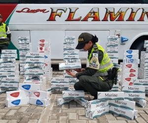 Cigarrillos de contrabando