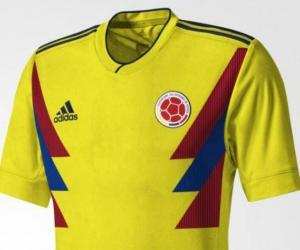 Posible diseño de la camiseta de la Selección Colombia