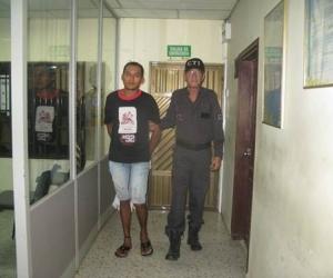 Él es Andrés Herrera, conocido con el alias de El Gringo.