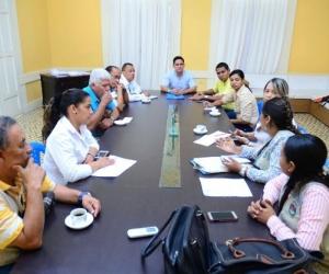 Secretarías de Salud municipal y departamental coordinaron las acciones sobre manipulación de alimentos.