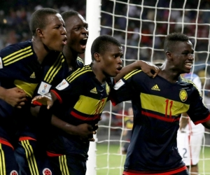Jugadores de la Selección Colombia sub-17.