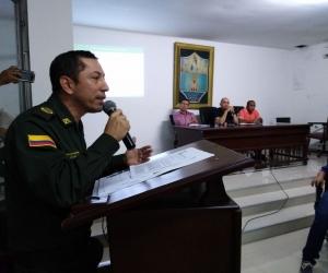 El coronel Gustavo Berdugo, comandante de la Mesan, fue citado al Concejo este miércoles.