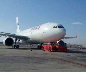 Wamos Air es la aerolínea que operará hoy el vuelo Madrid- Cali