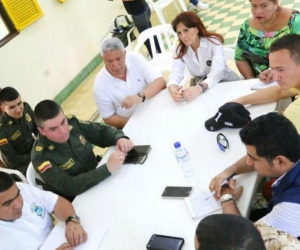 Consejo de seguridad por el caso de robo en Río Frío que dejó tres muertos.