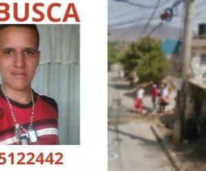 Nelson Jiménez se encuentra desaparecido.