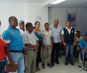 Se encuentran en la sede la aseguradora Allianz Seguros S.A en Santa Marta en la calle 26 #5-35.