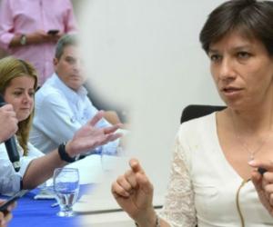 Luis Miguel Cotes le respondió a Claudia López en Twitter.