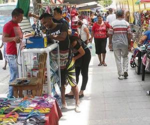 La administración trabaja en la recuperación del espacio público en de la Carrera Quinta y todo el Centro Histórico.