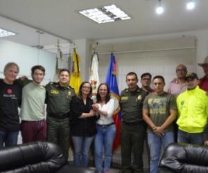 Foto publicada por la Policía de Antioquia.