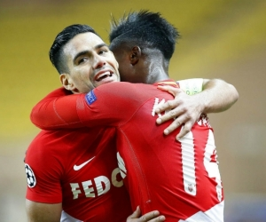 Falcao celebrando su gol