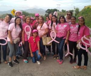 Caminata por el sendero del Ziruma, como conmemoración del Día Mundial del cáncer de mama