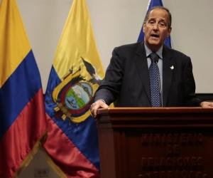 El jefe del equipo negociador del Gobierno colombiano en los diálogos con el ELN, Juan Camilo Restrepo