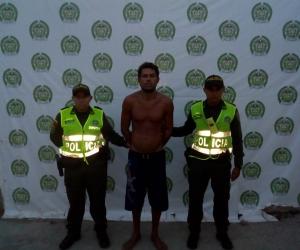 Alias 'El Tigre', capturado en El Rodadero