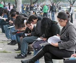 Según el Dane el mes pasado el número de ocupados fue 22 millones 397 mil personas.