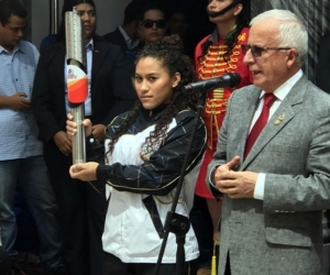 Baltazar Medina recibió el fuego bolivariano