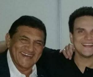 Poncho Zuleta y Silvestre Dangond.