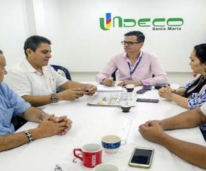 Secretaría de Gobierno y tenderos de Santa Marta se reúnen para revisar Código de Policía