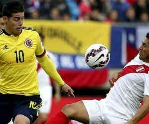 Partido entre Colombia y Peru