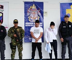 Capturados en Cúcuta