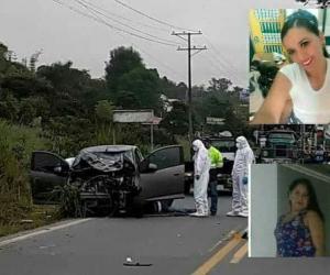 Las víctimas, identificadas como Adriana Marcela Amado, de 39 años y Yeini Margarita Pineda León, de 35 años.