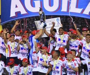 El Junior de Barranquilla celebra su merecido triunfo.