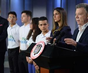 El Presidente, lanzó la cuarta convocatoria de Ser Pilo Paga, en la Casa de Nariño